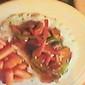 Beef & Pepper Stir Fry over Rice