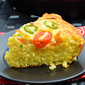 Skillet Jalapeno Cornbread #SundaySupper