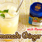 Homemade Ginger Ale with Manuka Honey from New Zealand - Video Recipe
