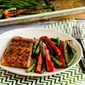 Roasted Asian Salmon and Green Beans Sheet Pan Meal