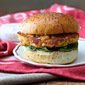 Salmon Burgers with Greek Yogurt Dill Sauce and Homemade Hamburger Buns | #FishFridayFoodies
