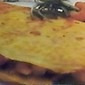 Skillet Baked Shrimp Omelet