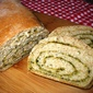 Pesto Swirl Bread