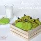Apple Cutout Sour Cream Cookies