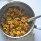 Vegetable Kothu Chapathi