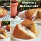 BLUEBERRY BANANA CAKE RECIPE