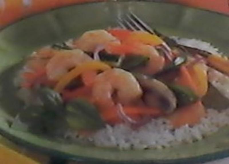 9~Minute Shrimp Stir Fry