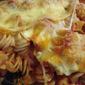 Tomato Soup Pasta Bake