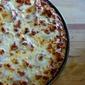 BBQ Chicken Cauliflower Crusted Pizza