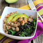 Breakfast Grain Bowl Recipe with Tart Cherries, Sausage & Kale
