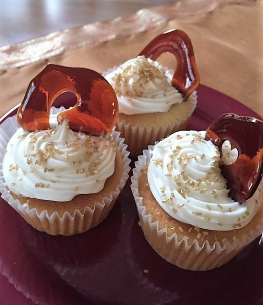 Ginger Beer Cupcakes w/Frosting