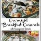 Overnight Breakfast Casserole