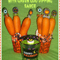 #ad Gearing Up for Halloween with Tyson Foods…Featuring Boo-rific Halloween Corn Dog Cups with Green Goo Dipping Sauce