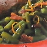 Bacon~Orange Green Beans
