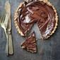 Baking | Dark Chocolate Walnut Oat Tart GF…everyone needs a chocolate hug!