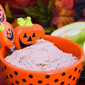 Fluffy Chocolate Fruit Dip #Choctoberfest