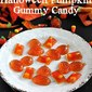 Halloween Pumpkin Gummy Candy
