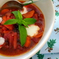 Borscht style BEET potato carrot soup
