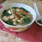 Baby Kale Soy-Bean Soup 羽衣甘蓝黄豆汤