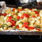 [VeganMoFo 2016] Breakfast Potato Hash with Bell Peppers and Onions Recipe