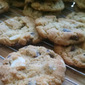 Browned Butter Chocolate Chip Macadamia Cookies