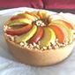 Homemade Apple Custard Tart