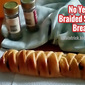 NO YEAST BRAIDED SAVORY BREAD RECIPE