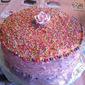 Strawberry Cream Cake for The Melbourne Cake Club - Springtime
