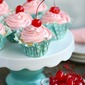 Cherry Almond Cupcakes + BIG GIVEAWAY!