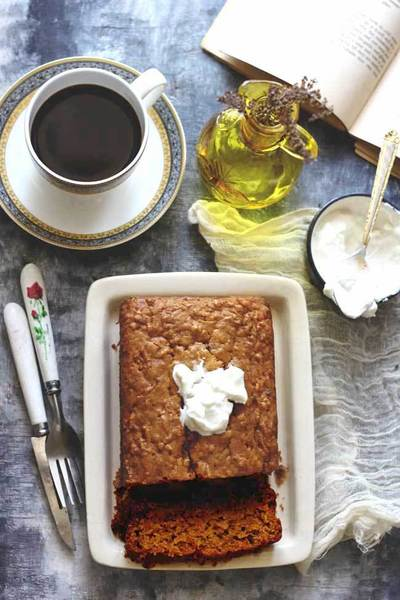 Eggless Banana Loaf Cake