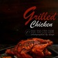 Grilled Chicken Recipe | How To Grill A Whole Chicken Using An Oven | Whole Chicken Grilled | Indian Style Grilled Chicken