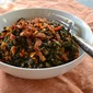 10 Days of Vegetable Sides: Winter Greens with Garlic and Bacon