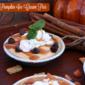 Mini Pumpkin Ice Cream Pies - Thanksgiving with Breyers