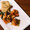 Sweet Potato and Crumbled Chorizo Appetizer