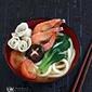 Tomato Udon Soup 番茄乌冬面