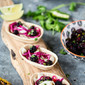Fish Tacos with Blackberry Chilli Lime Salsa
