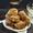 Saffron Donuts with Pistachio Cream