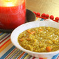 My New Normal: Curried Red Lentil Soup