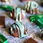 No Bake OREO Mint Truffles