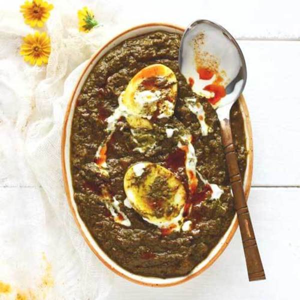 Palak Anda Curry