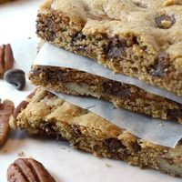 Chocolate Chip & Toasted Pecan Bars