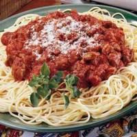 Texas ~Italian Meat Sauce