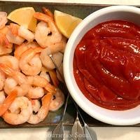 Roasted Shrimp With Fresh Cocktail Sauce