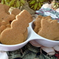 rustic BUTTERSCOTCH spice GINGER cookie