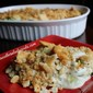 BLUE CHEESE BROCCOLI CASSEROLE