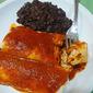 Turkey Enchiladas with Spicy Chipotle Sauce