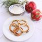 The 12 Recipes of Christmas… Oven Baked Onion Rings with Cumin Dipping Sauce