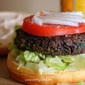 The Best Black Bean Burger with Chipotle Mayo