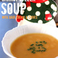 Carrot and Leek Soup with Sour Cream and Chives