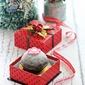 Banana Chocolate Dome Cake & Christmas Giveaway